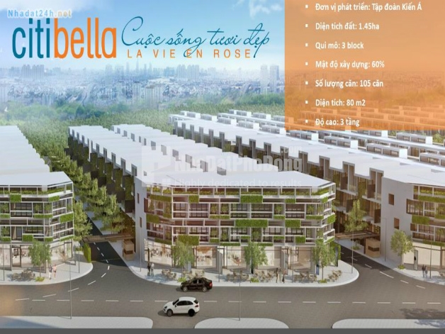 Dự án nhà phố Citibella Cát Lái Quận 2 | 3