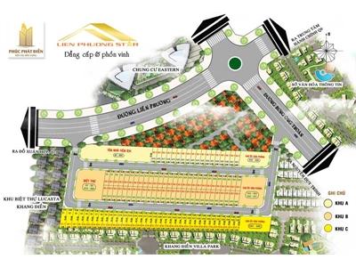 Nhà phố Liên Phường Star Phú Hữu Quận 9