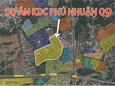 Đất nền dự án KDC Phú Nhuận, Phước Long B, Quận 9