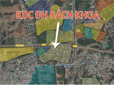 Đất nền KDC Đại học Bách Khoa Quận 9