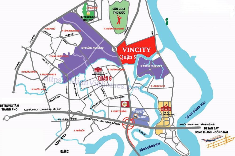 Kết quả hình ảnh cho vị trí vincity