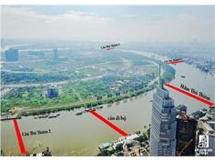 4 Cây Cầu Nghìn Tỷ Nối Thủ Thiêm Với Trung Tâm Sài Gòn