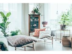 Kết hợp mảng xanh dịu mát trong ngôi nhà bạn