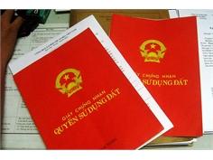 Giao dịch nhà đất giấy tay được cấp số đỏ