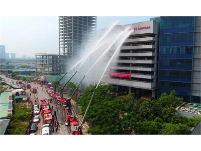 Kinh nghiệm thoát hiểm khi cháy nổ nhà cao tầng