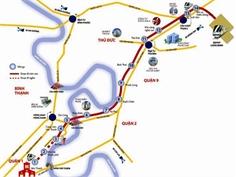 Toàn cảnh tuyến metro Sài Gòn sau 3 năm thi công