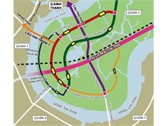Hoàn thành 4 Tuyến đường chính trong khu đô thị Thủ Thiêm