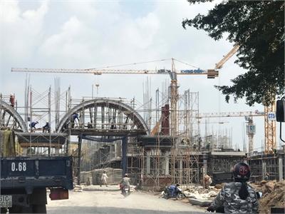 Tiến độ thi công dự án Verosa Park Khang Điền tháng 10/2019