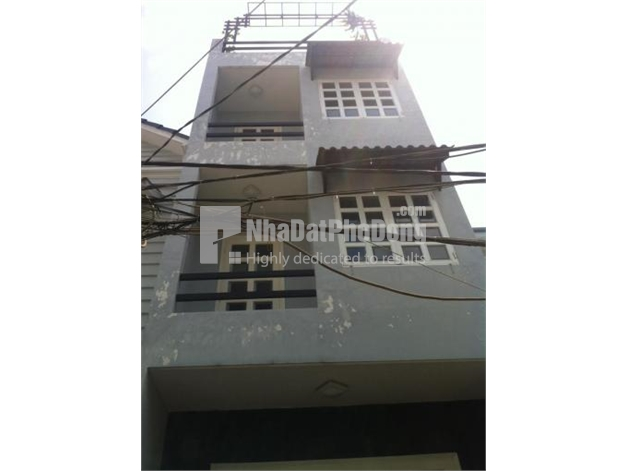 Bán nhà phố giá rẻ đường Nguyễn Xí Bình Thạnh | 1