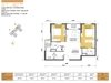Bán căn hộ 2 phòng ngủ hướng Tây Nam Masteri Thảo Điền Quận 2. | 2