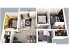 Bán căn hộ The Krista 3 phòng ngủ hướng Tây Nam. | 2