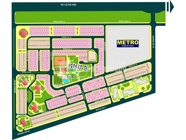 Bán đất dự án khu B phường An Phú Quận 2 | 1