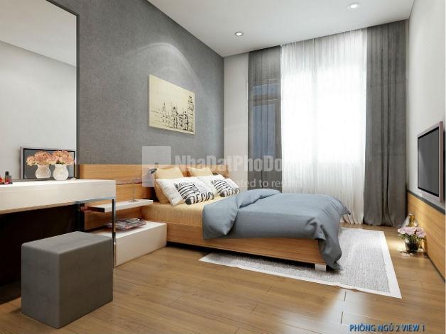 Bán căn hộ The Sun Avenue 2 phòng ngủ hướng Tây Bắc. | 1