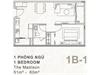 Bán căn hộ 1 phòng ngủ hướng Nam dự án GateWay Quận 2 | 2