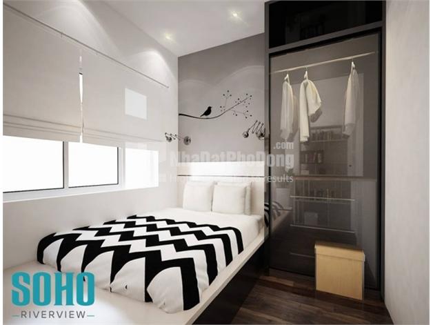 Bán căn hộ 3 phòng ngủ  Soho Riverview  phường 26  Quận Bình Thạnh | 2