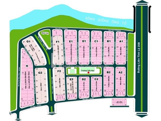 Bán đất nền hướng Tây Nam dự án Huy Hoàng đường 25B Quận 2  | 1