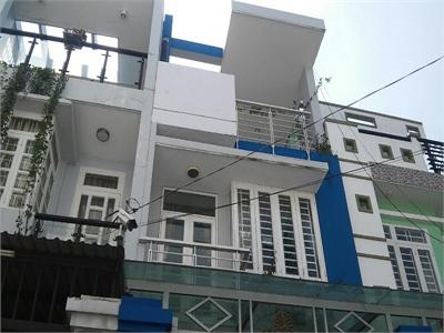 Bán nhà phố 1 trệt 2 lầu, HXH,  gần bệnh viện Quận 2, phường Bình Trưng Tây.