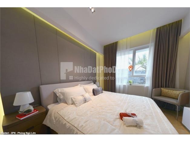 Bán căn hộ thuộc tòa Dịch vụ- Thương mại Masteri Thảo Điền 1 phòng ngủ  | 3