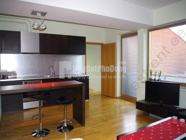 Very nice 3 bedrooms Masteri Thao Dien Block 1 merged apartment for rent  | 4