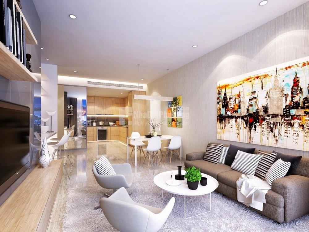 Bán căn hộ Landmark Plus 1 phòng ngủ lầu cao kề căn góc | 4