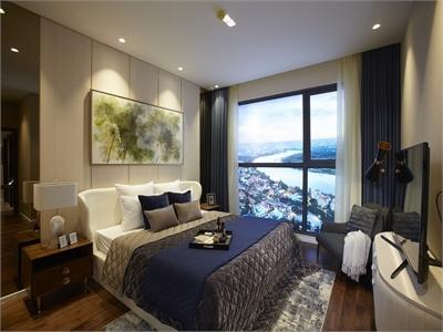 Bán căn hộ 3 phòng ngủ Q2 Thảo Điền tầng cao view sông Sài Gòn