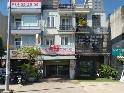 Cho thuê nhà mặt tiền đường Nguyễn Hoàng  80m2 1 trệt 2 lầu nhà trống tiện làm văn phòng