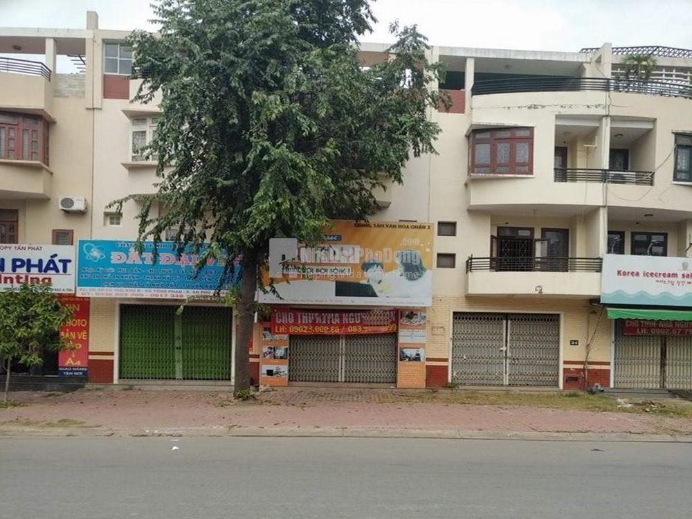 Cho thuê nhà mặt tiền 100m2 đường Vũ Tông Phan đối diện trường cấp 3 Thủ Thiêm | 1