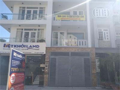 Cho thuê nhà mới tại đường Trần Lựu 80m2 1 trệt 3 lầu có thang máy riêng