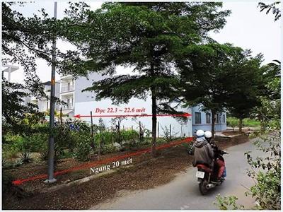 Bán đất mặt tiền sát đường Bưng Ông Thoàn Quận 9 giá chỉ 25.5 triệu/m2