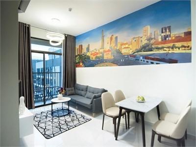 Cho thuê căn hộ 2 phòng ngủ Jamila View hồ bơi đầy đủ nội thất