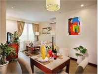 Two bedroom serviced apartment for rent in Binh Thanh