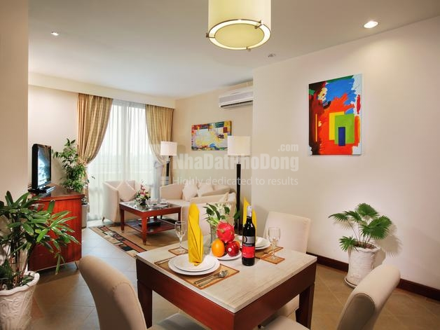 Two bedroom serviced apartment for rent in Binh Thanh | 1
